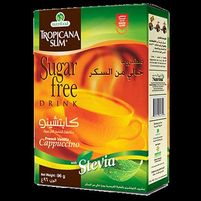 Picture of TROPICANA SLIM Sugar Free Drink Cappuccino W.Stevia 96g (10 Sachet)