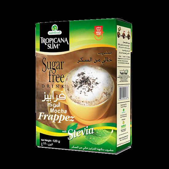 Picture of TROPICANA SLIM Sugar Free Drink Frappez W.Stevia 120g (10 Sachet)