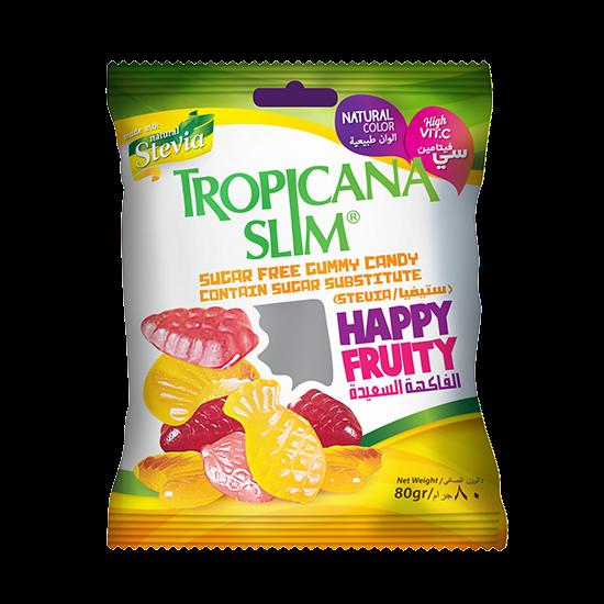 Picture of TROPICANA SLIM Sugar Free Gummy Candy W.Stevia 80g