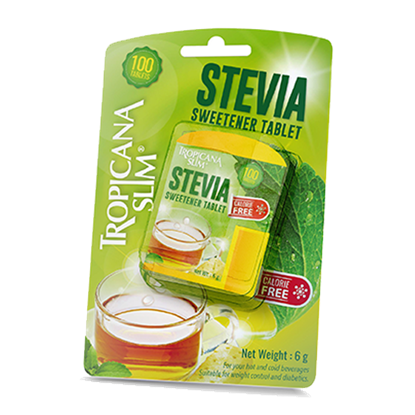 Picture of TROPICANA SLIM Sweetener Stevia 100 Tablets 6g