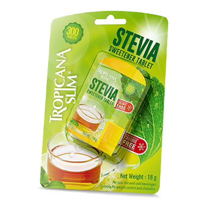 Picture of TROPICANA SLIM Sweetener Stevia 300 Tablets 18g