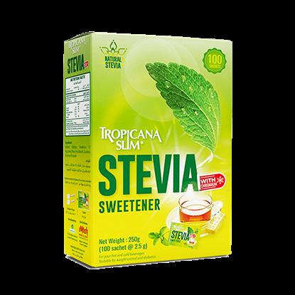 Picture of TROPICANA SLIM Sweetener Stevia W.Chromium 250g (100 Sachet)