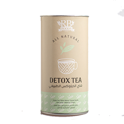 الصورة: أر بي فودز شاي أعشاب الديتوكس العضوي 30جم