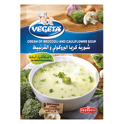 Picture of VEGETA  Broccoli and Cauliflower Soup 66g