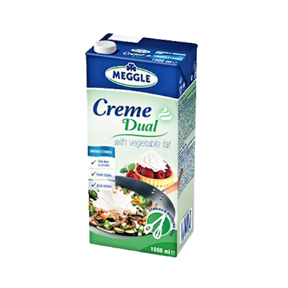 Picture of MEGGLE CREME DUAL 12 X 1 LTR