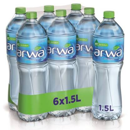 Picture of Arwa Water 1.5L 6Pack