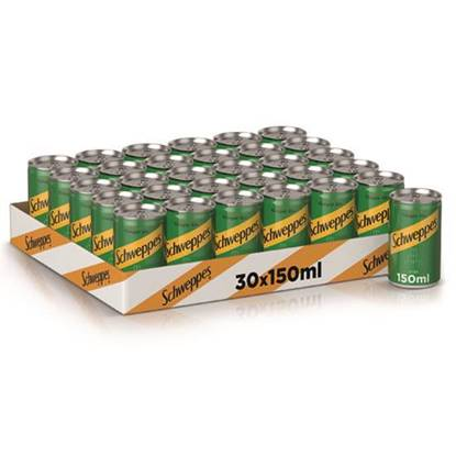 Picture of Can 150ml 30Pack Scheweppes Ginger
