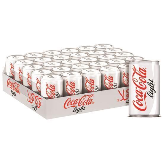 صورة علب 150 مل شد 30 كوكاكولا لايت