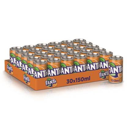 Picture of Fanta Orange Can 150ml 30Pack