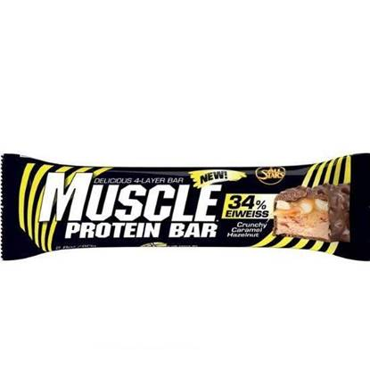 Picture of All Stars Muscle Protein Bar Crunchy Caramel-Hazelnut 80g
