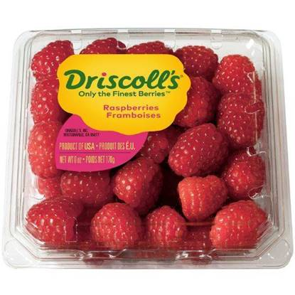 Picture of Driscolls Raspberries Pack 170gm
