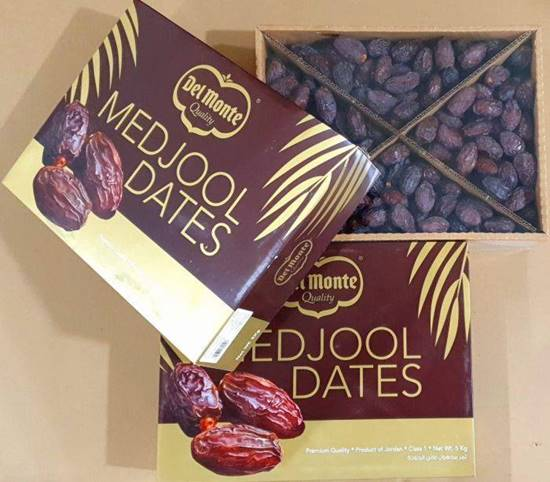 Picture of Dates Madjool Jordan 1kg Packet