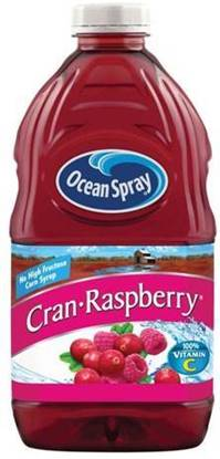 Picture of Ocean Spray Cranberry Raspberry Juice 1.89 Ltr