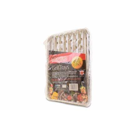 Picture of  BAR-BE-QUICK GRILL TRAYS 5PK