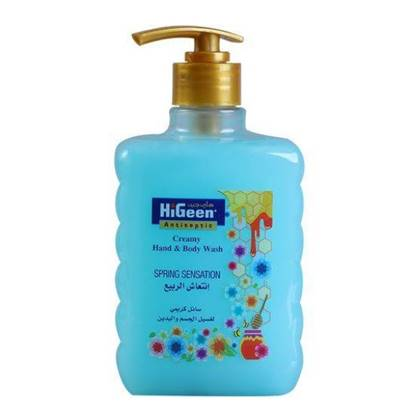 Picture of  HIGEEN CREAMY H&B WASH 500ML SPRING SENSATION