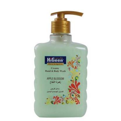 Picture of  HIGEEN CREAMY H&B WASH 500ML APPLE BLOSSOM