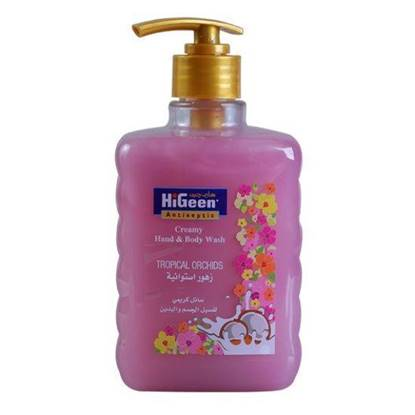Picture of  HIGEEN CREAMY H&B WASH 500ML TROPICALORCHIDS