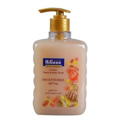 Picture of  HIGEEN CREAMY H&B WASH 500ML SHEA BUTTER
