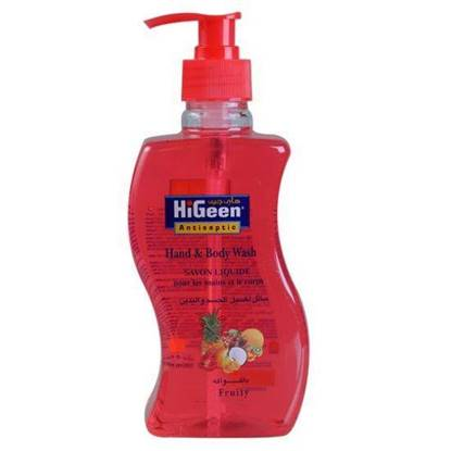 Picture of  HIGEEN HAND & BODY WASH 500ML FRUIT