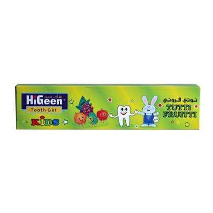 Picture of  HIGEEN TOOTHPASTE 60GM TUTI FRUITY