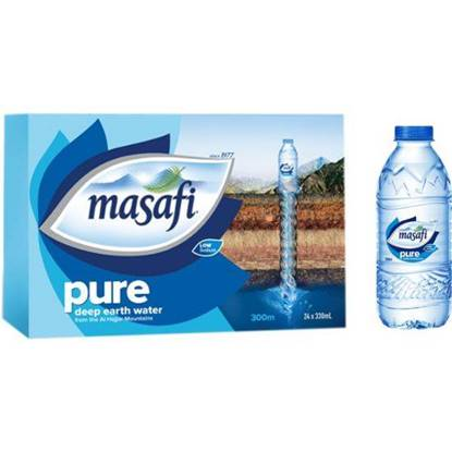 Picture of  MASAFI MINERAL WATER 330 ML NORMAL LOGO X 24 (OMAN)