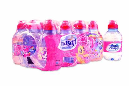 Picture of  MASAFI MINERAL WATER SP. CAP – LITTLE PONY -200MLX12X2 (TURKEY)