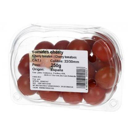 Picture of Farmers Market Tomatoes Cherry Red Spain 250 gm