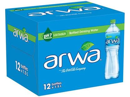 Picture of Arwa Water 1.5L 12Pack