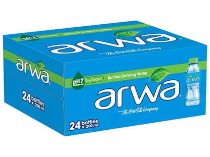Picture of Arwa Water 200ml 24Pack