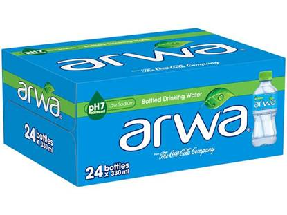 Picture of Arwa Water 330ml 24Pack