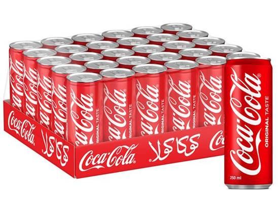 صورة علب 250 مل شد 30 كوكاكولا