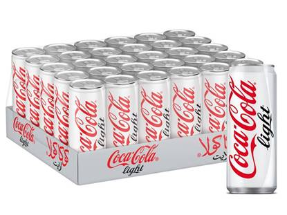 Picture of Coca-Cola Light Can 250ml 30Pack