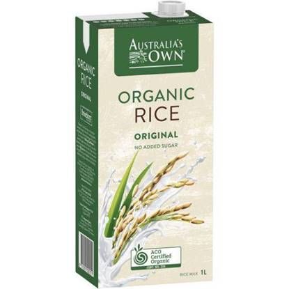 Picture of Australia's Own Organic Rice Milk – Original 1L