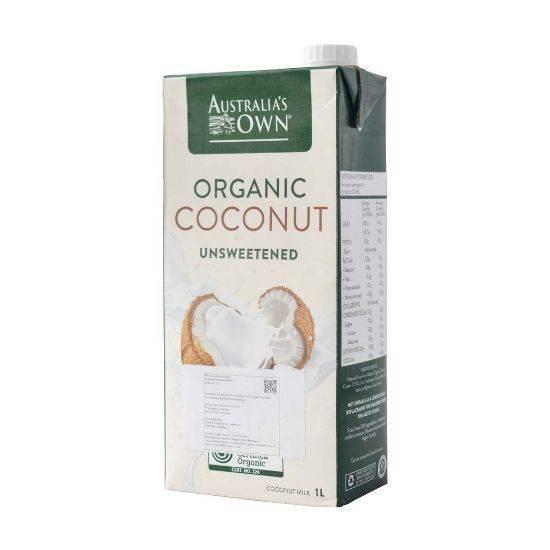 Picture of Australia's Own Organic Unsweetened Coconut Milk 1L