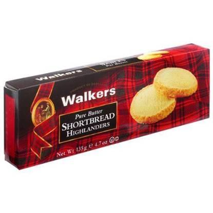 Picture of Walkers Shortbread Highlander Rounded 135gr