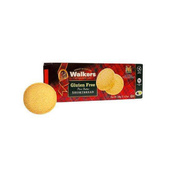 Picture of Walkers  Shortbread Rounds  G/F 140gr