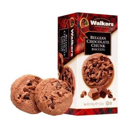 الصورة: واكرز كوكيز بقطع الشوكولاتة البلجيكية 150جم