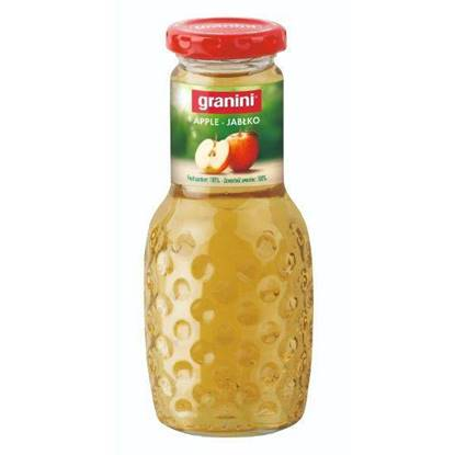 الصورة: جرانينى عصير تفاح طبيعى بدون سكر مضاف 250 مل
