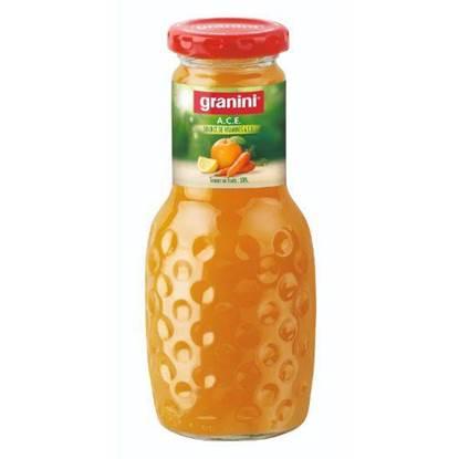 الصورة: جرانيني عصير برتقال وجزر وليمون بالفيتامينات 250مل