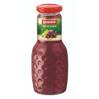الصورة: جرانينى عصير عنب طبيعى بدون سكر مضاف 250 مل