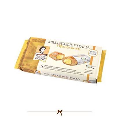 Picture of Vicenzi Puff Pastry Roll with Pastry cream 125gr