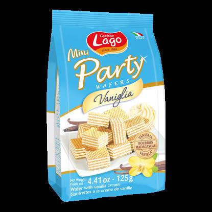 Picture of Lago Mini Party Vanilla Wafer 125gr