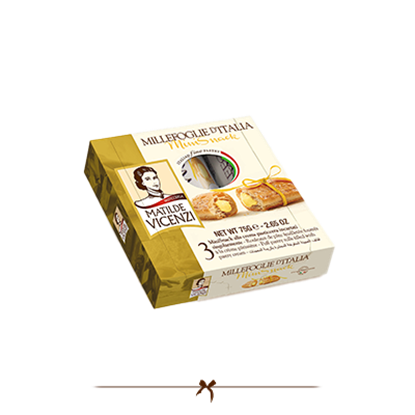 Picture of Vicenzi Puff Pastry Roll with Pastry cream 75gr