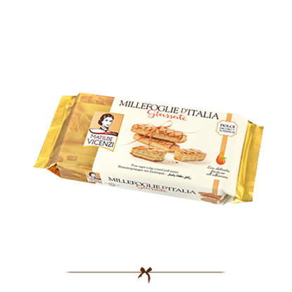 Picture of Vicenzi Puff Pastry sugar Icing coated 125gr