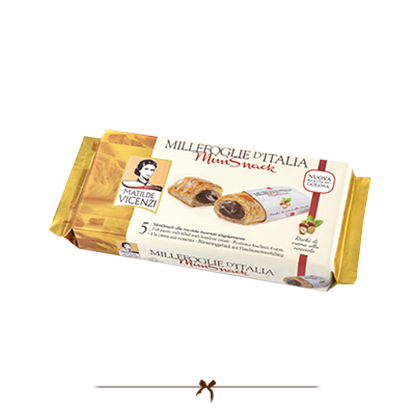 Picture of Vicenzi Puff Pastry Roll with hazelnut cream 125gr