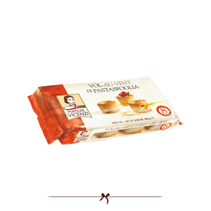 Picture of Vicenzi Puff Pastry Shells 100 gr
