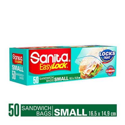 Picture of SANITA EASY LOCK Small Sandwiches BAG 16.5*14.9 CM - 50X20
