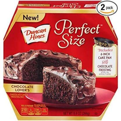 Picture of 184800-DH PS 1 CAKE CHOCOLATE LOVERS 8/8.4 OZ- Duncan Hines