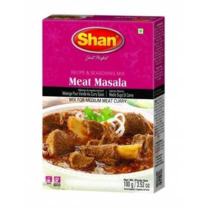 Picture of SHAN MEAT MASALA 100 GMS
