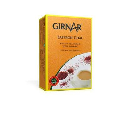 Picture of GIRANAR SAFFRON CHAI (TEA)3in1 10 SACHETS - 140 GMS
